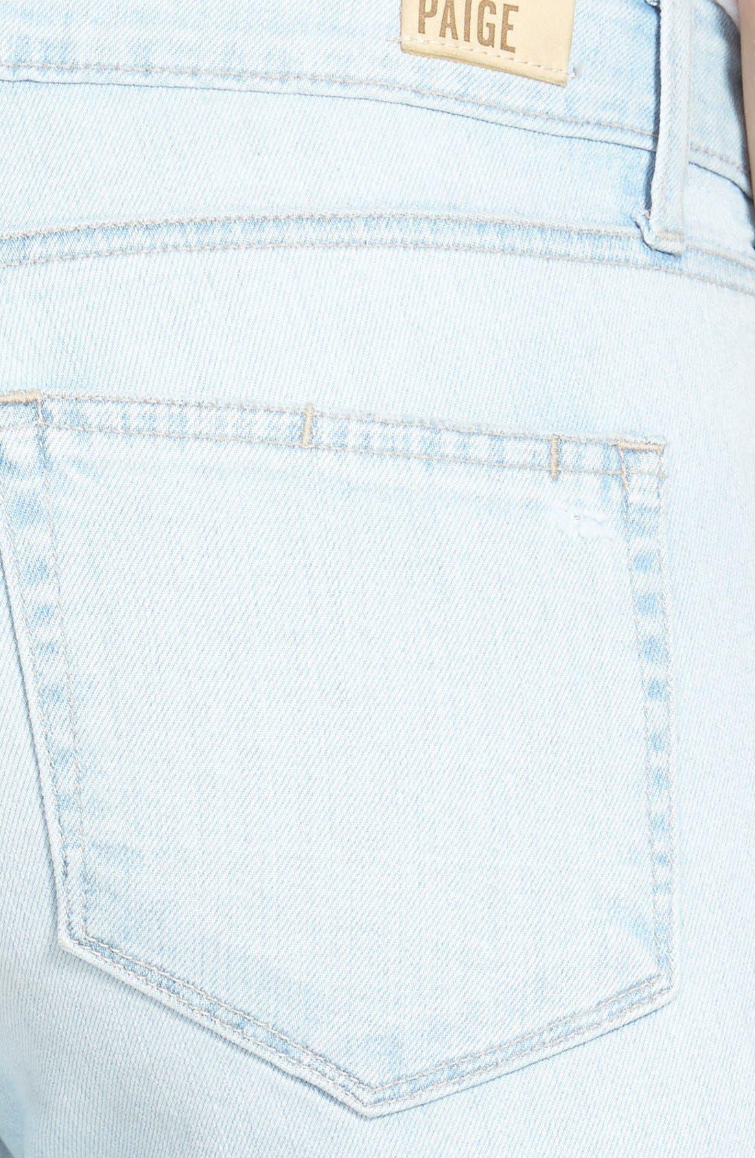 Alternate Image 3  - Paige Denim 'Verdugo' Ultra Skinny Jeans (Cece  Destructed)