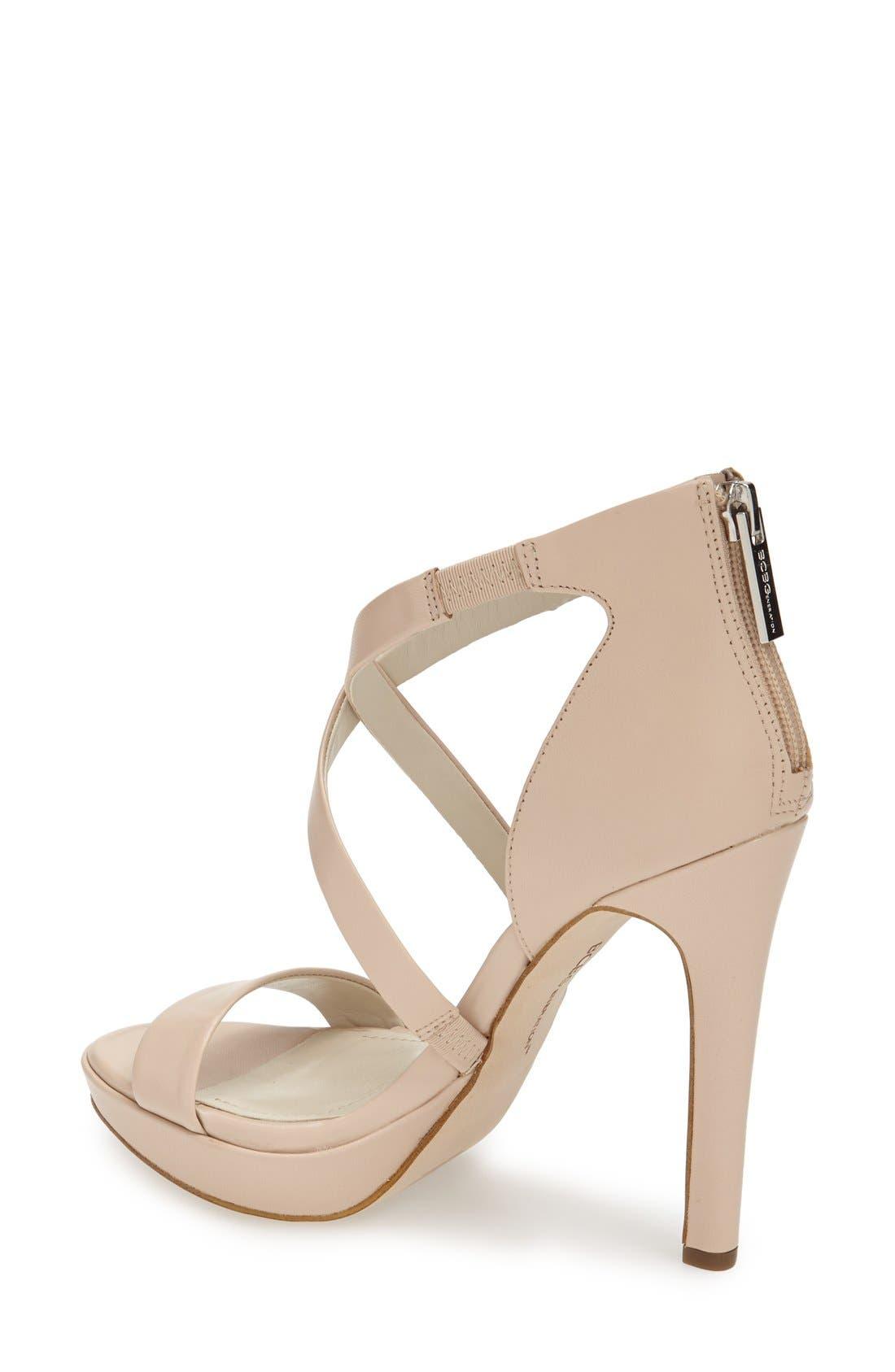 Alternate Image 2  - BCBGeneration 'Gidget' Leather Platform Sandal (Women)