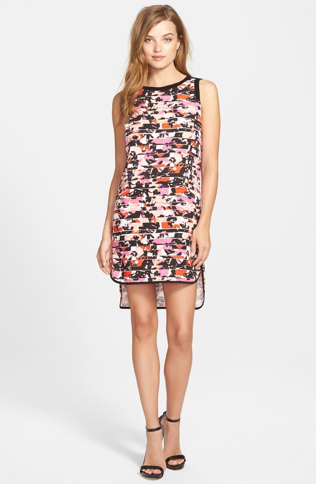 Alternate Image 1 Selected - Sam Edelman High/Low Shift Dress