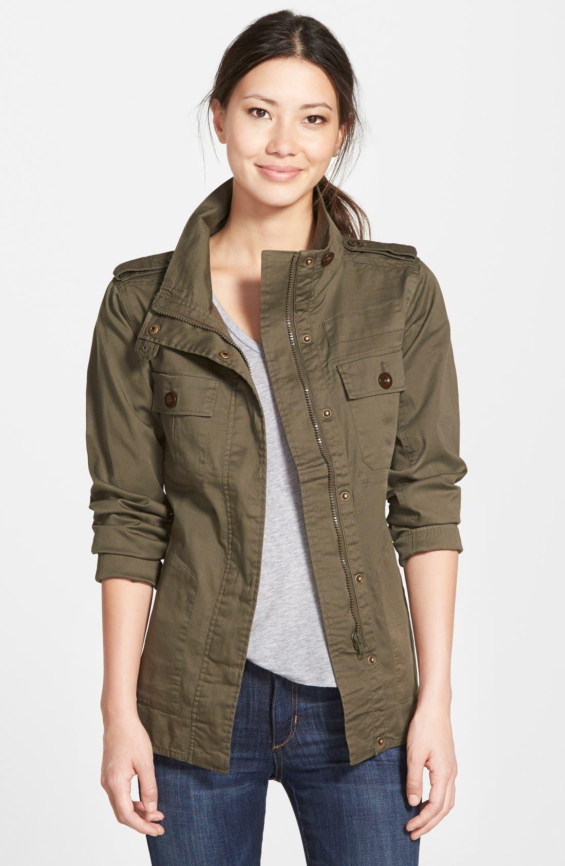 Alternate Image 1 Selected - Kersh Four-Pocket Military Jacket
