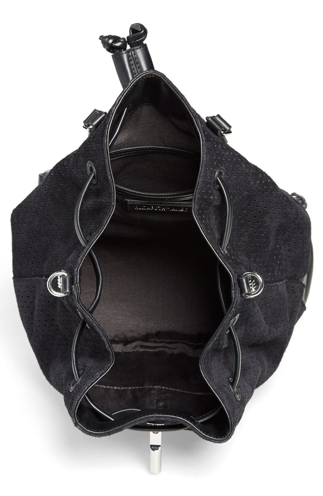Alternate Image 4  - Elizabeth and James 'Cynnie' Perforated Sling Backpack