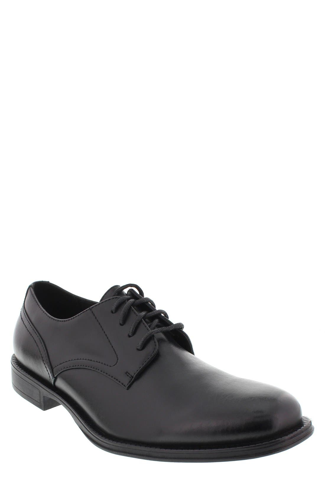 DEER STAGS 'Method' Leather Plain Toe Derby