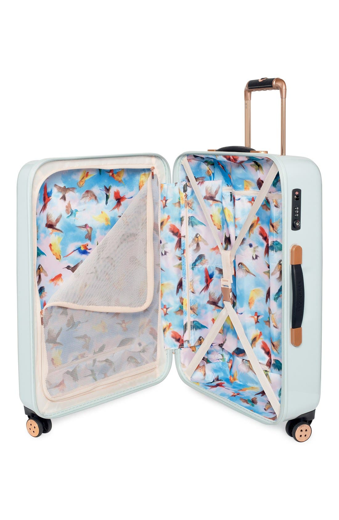 Alternate Image 3  - Ted Baker London 'Medium Rose' Hard Shell Suitcase (28 Inch)