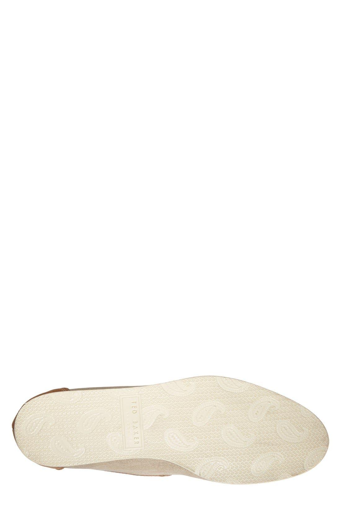 Alternate Image 4  - Ted Baker London 'Zaine' Tassel Loafer (Men)