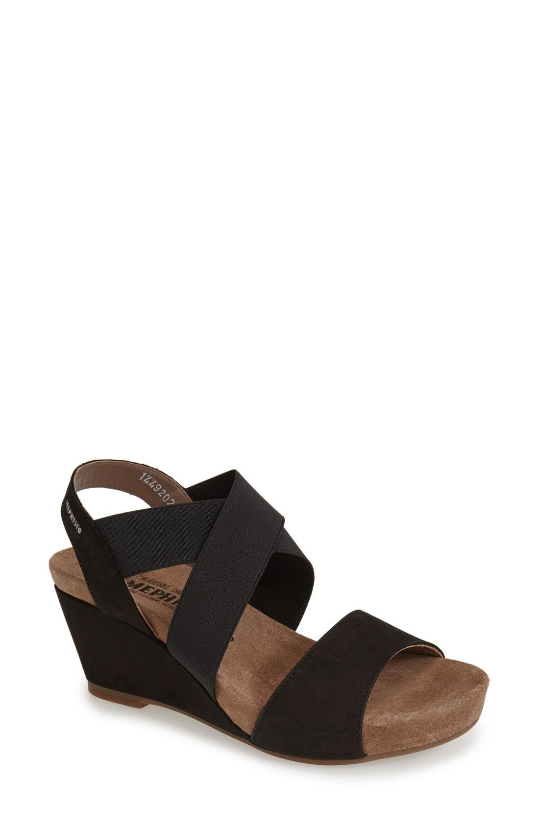 Mephisto 'Barbara' Wedge Sandal (Women)