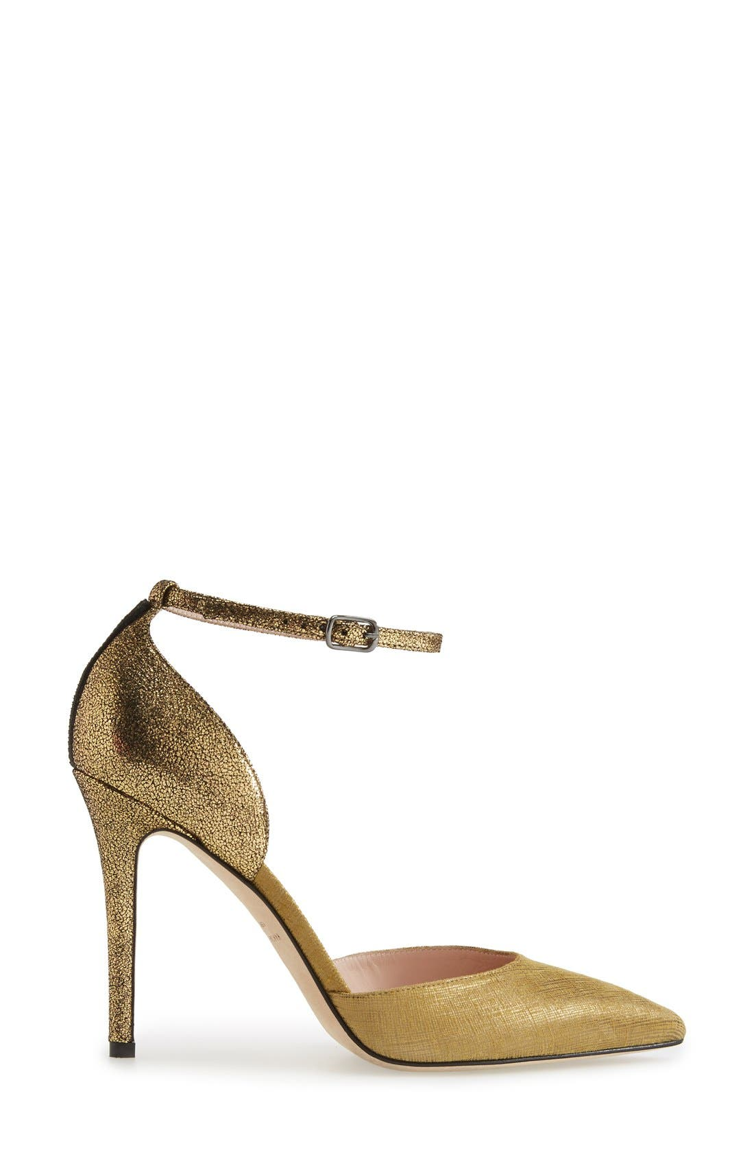 Alternate Image 4  - SJP by Sarah Jessica Parker 'Bella' Pointy Toe Ankle Strap Pump (Women) (Nordstrom Exclusive)