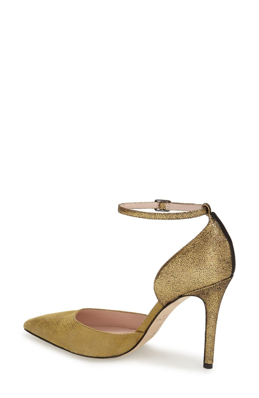 Alternate Image 2  - SJP by Sarah Jessica Parker 'Bella' Pointy Toe Ankle Strap Pump (Women) (Nordstrom Exclusive)