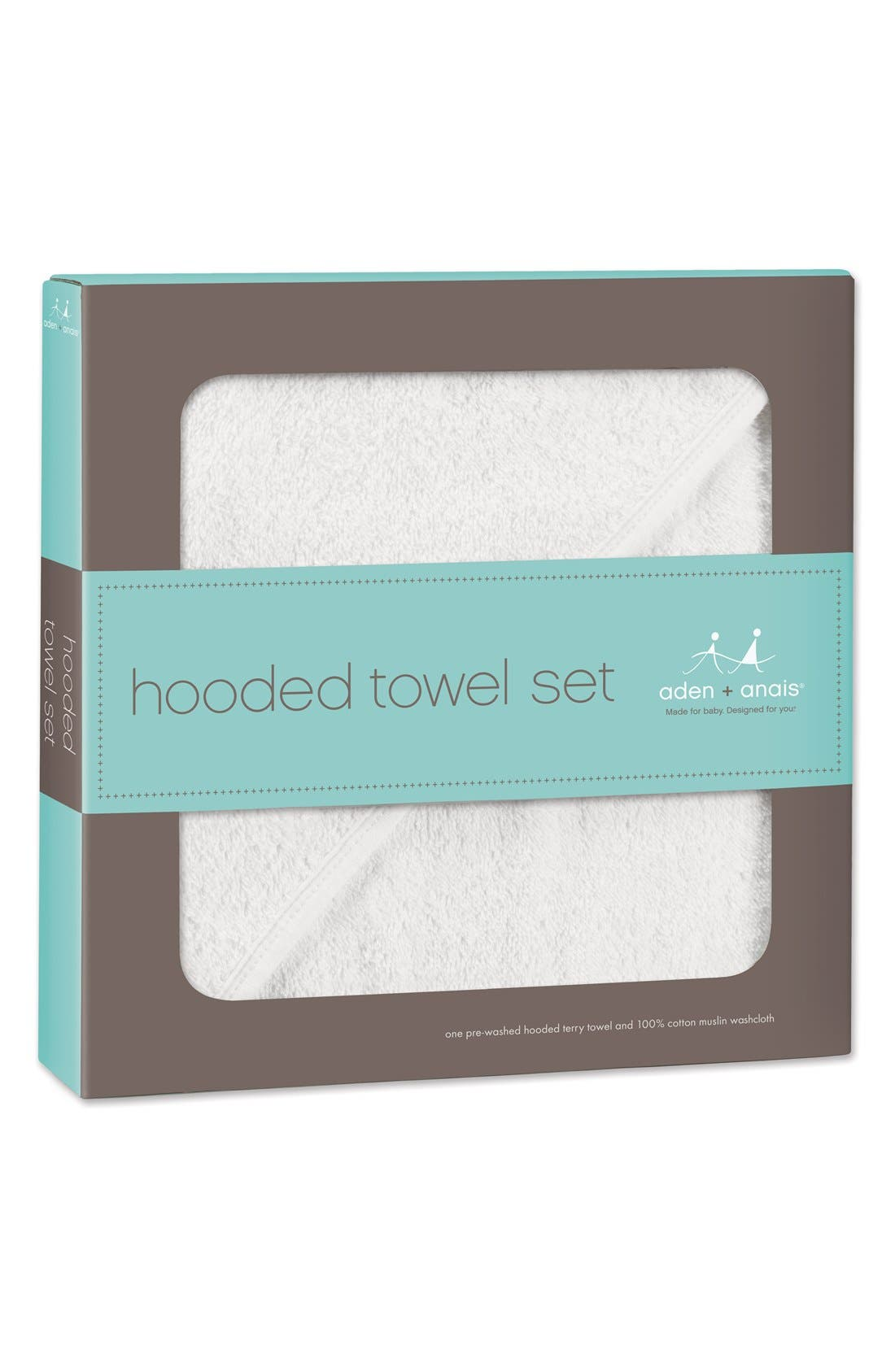 Alternate Image 3  - aden + anais Classic Hooded Towel Set