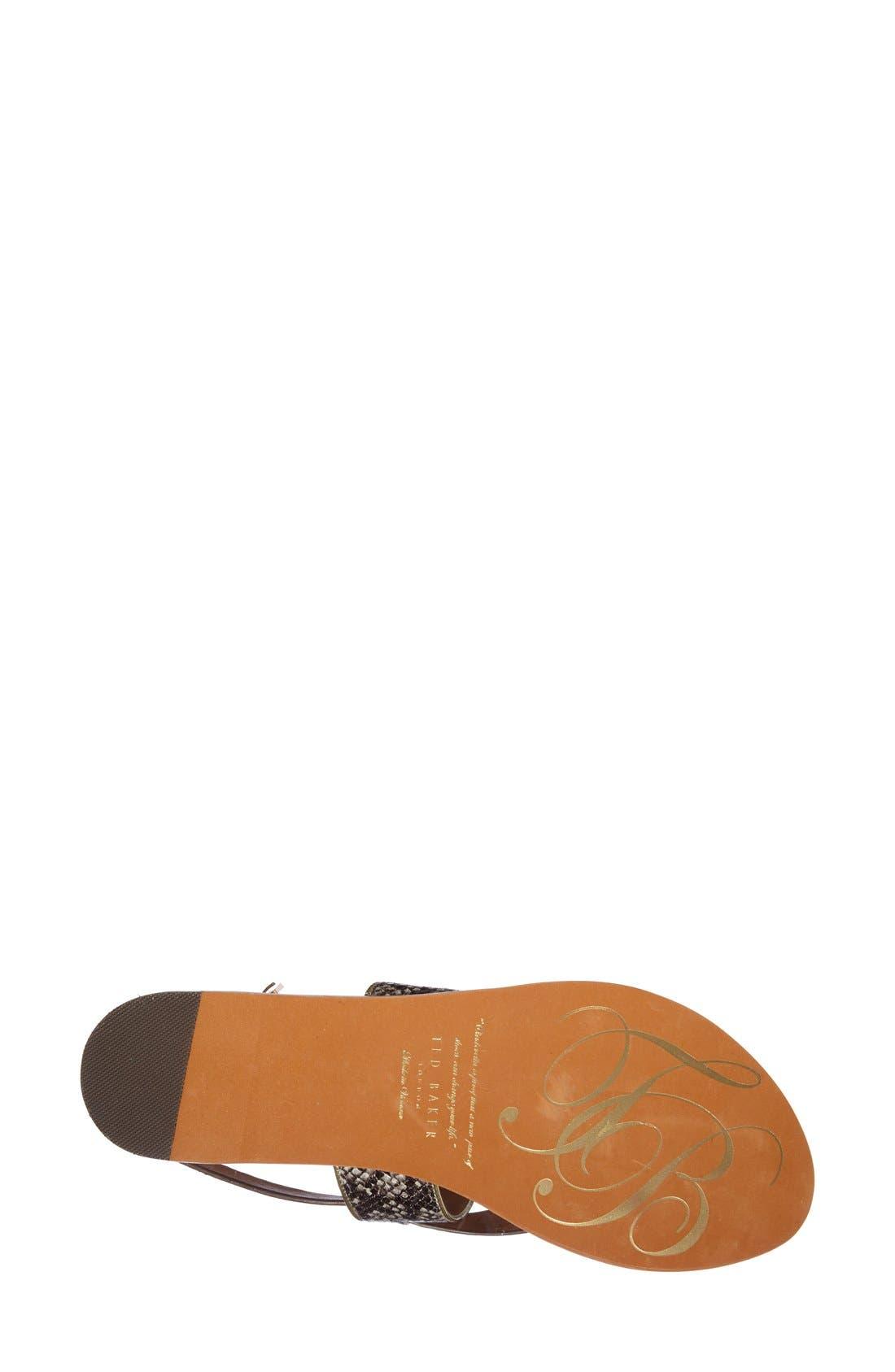 Alternate Image 4  - Ted Baker London 'Dendrum' Sandal (Women)
