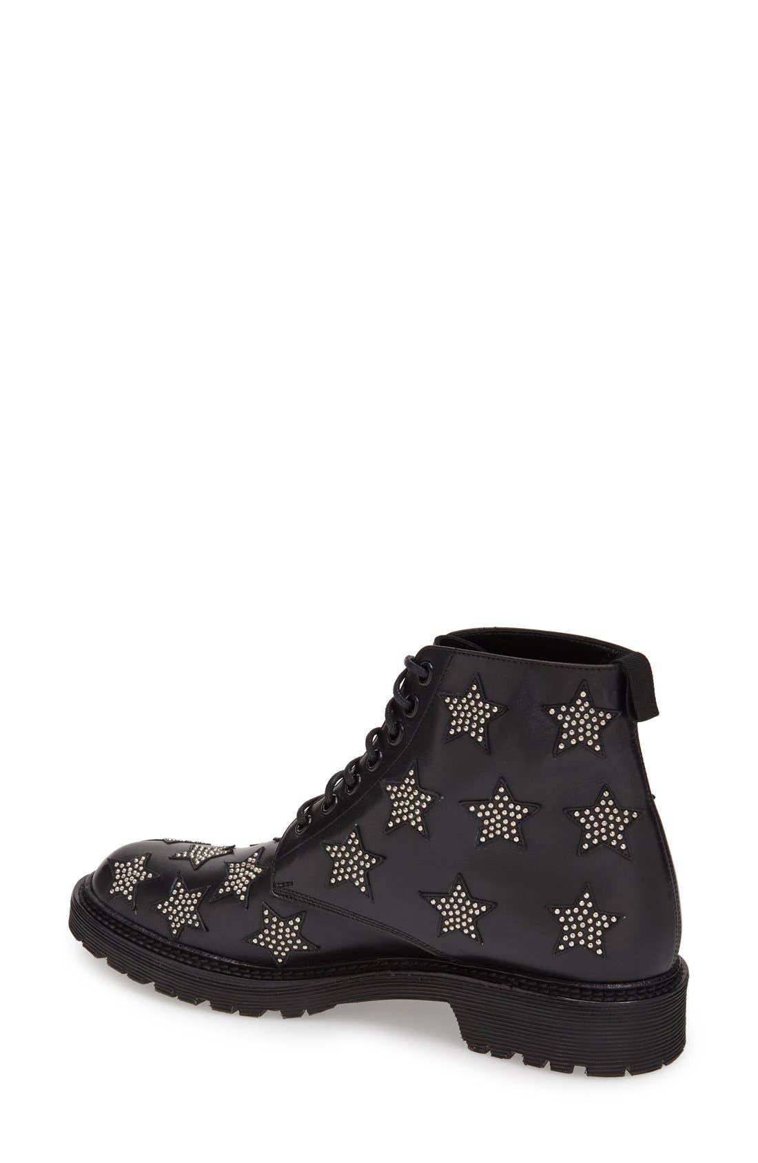 Alternate Image 2  - Saint Laurent 'Army' Lace-Up Boot (Women)