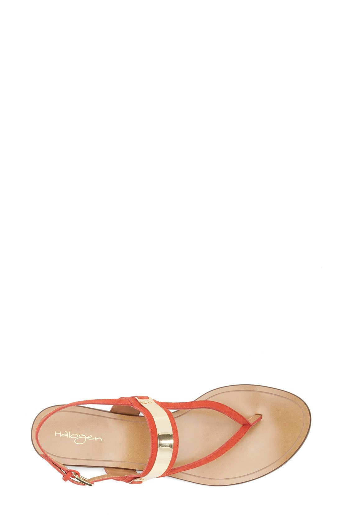 Alternate Image 3  - Halogen® 'Rita' Thong Sandal (Women)