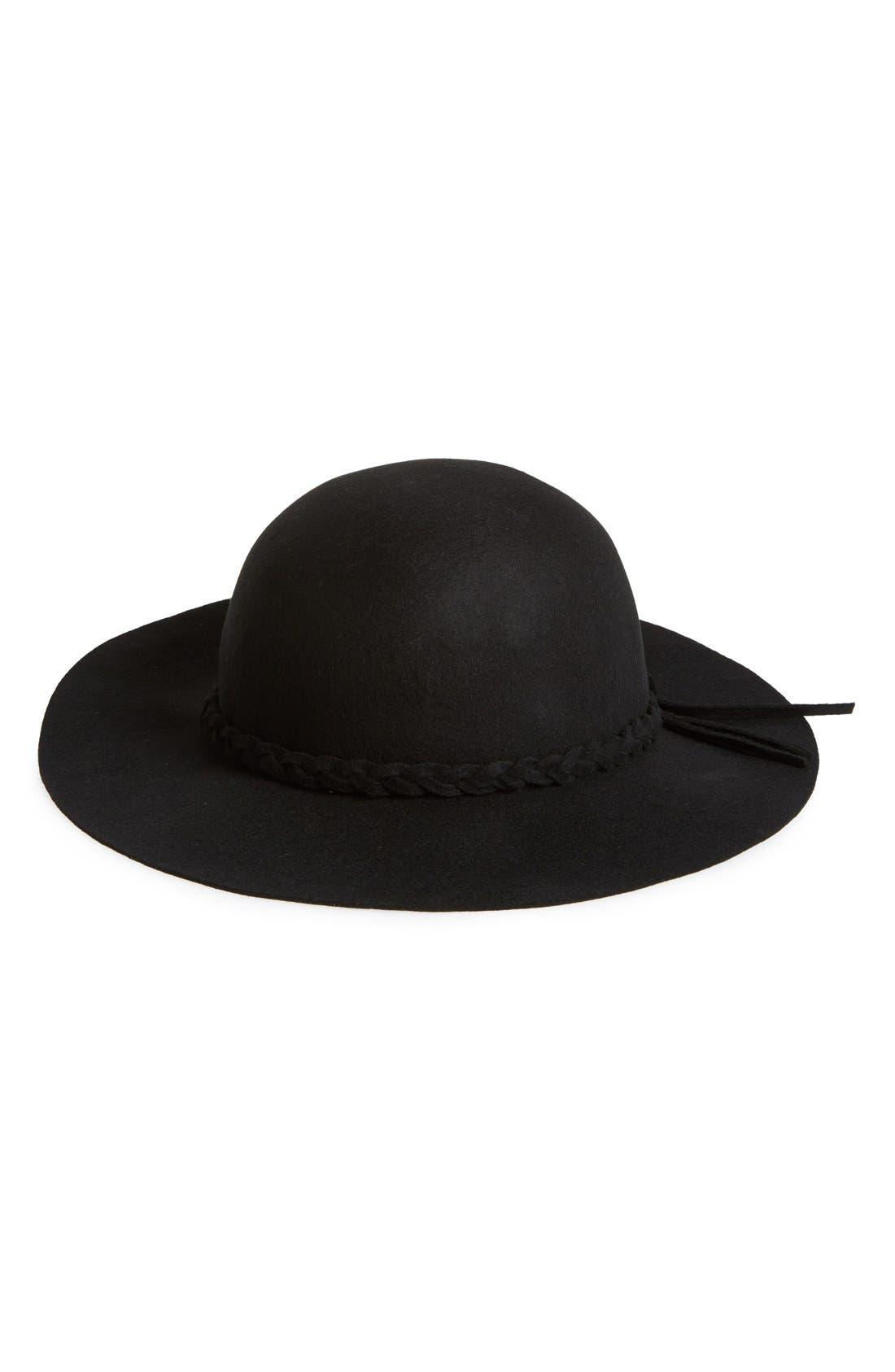 Main Image - Lulu Floppy Felt Hat
