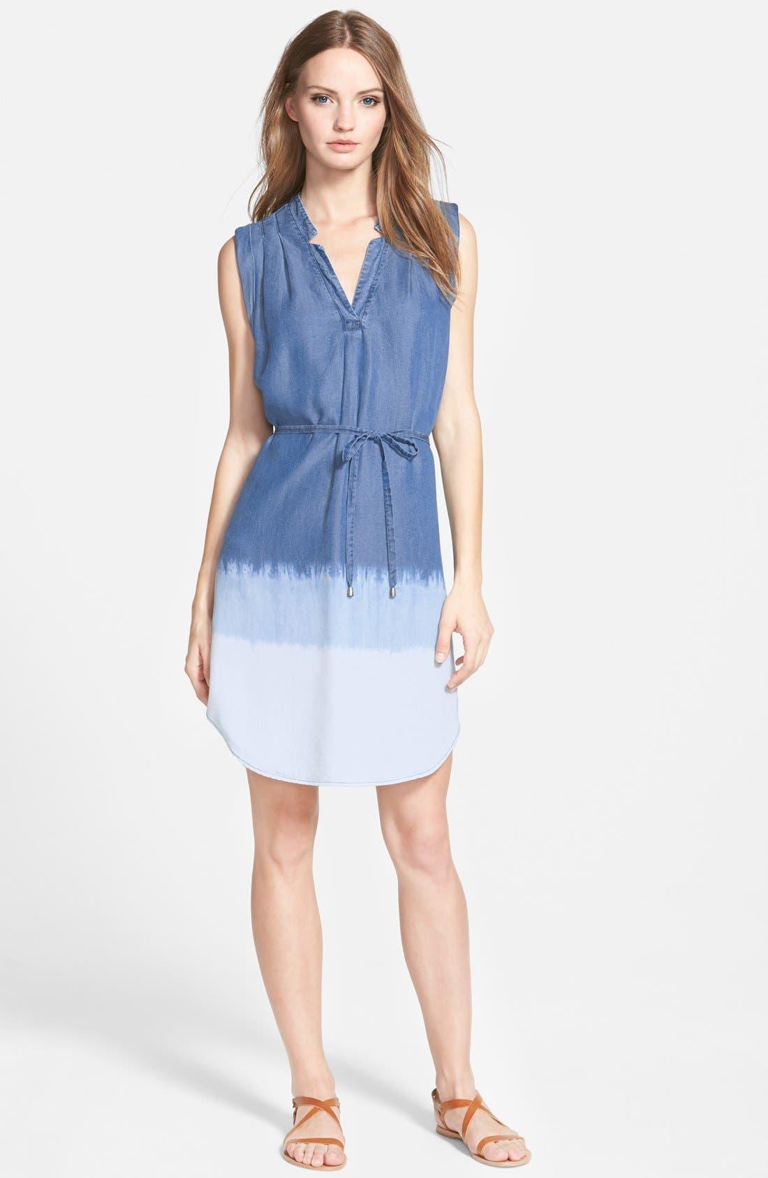 Main Image - Splendid Dip Dye Dress