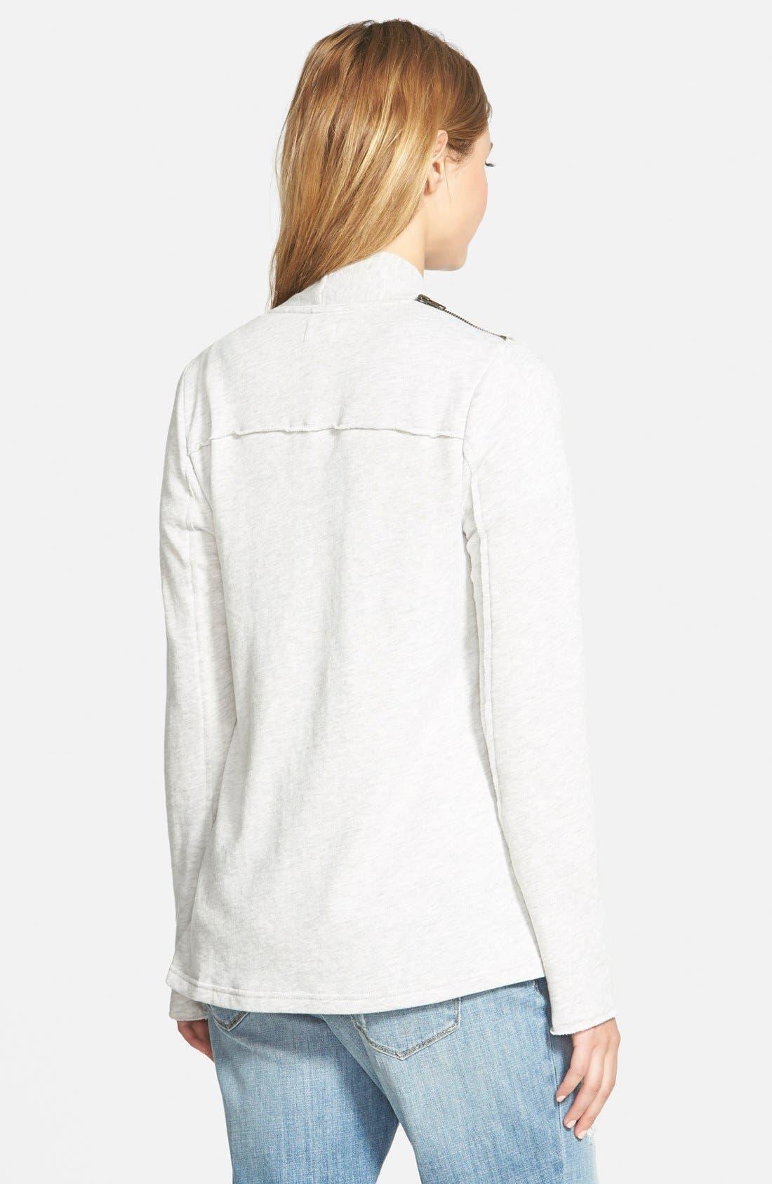 Alternate Image 2  - Stem Shoulder Zip Cardigan