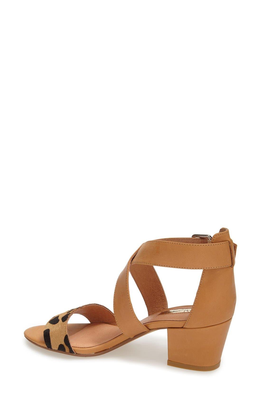 Alternate Image 2  - Halogen 'Rena' Crisscross Strap Sandal (Women)