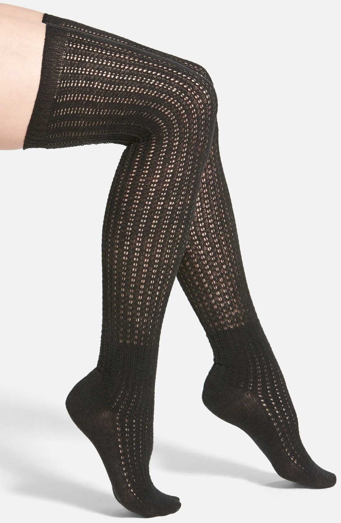 Alternate Image 1 Selected - Vince Camuto Lightweight Over the Knee Socks (Online Only)