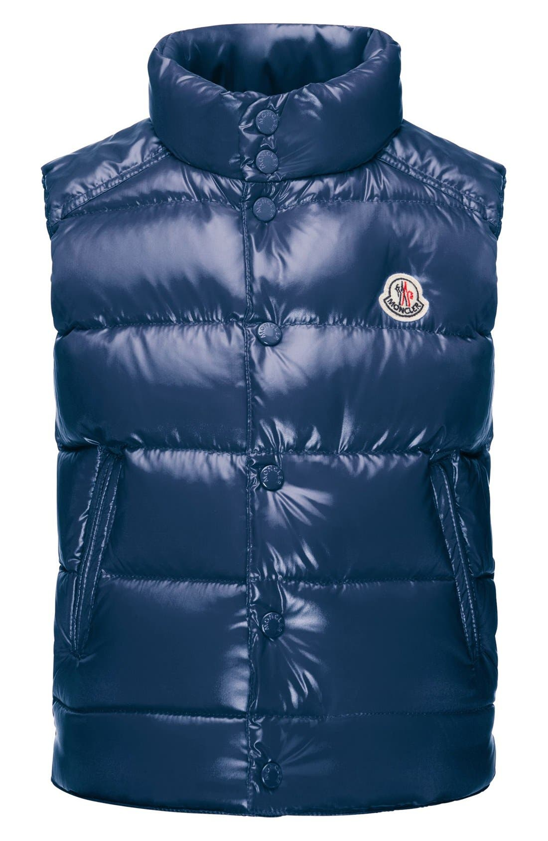 Moncler Down Puffer Vest (Toddler Boys)