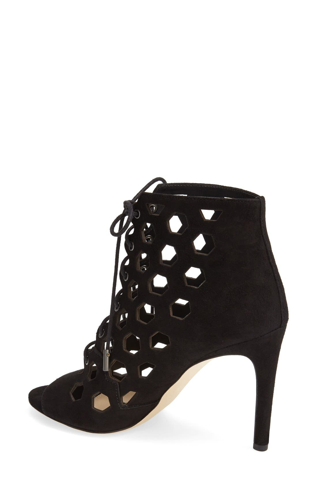 Alternate Image 2  - Via Spiga 'Elouise' Lace-Up Bootie (Women)