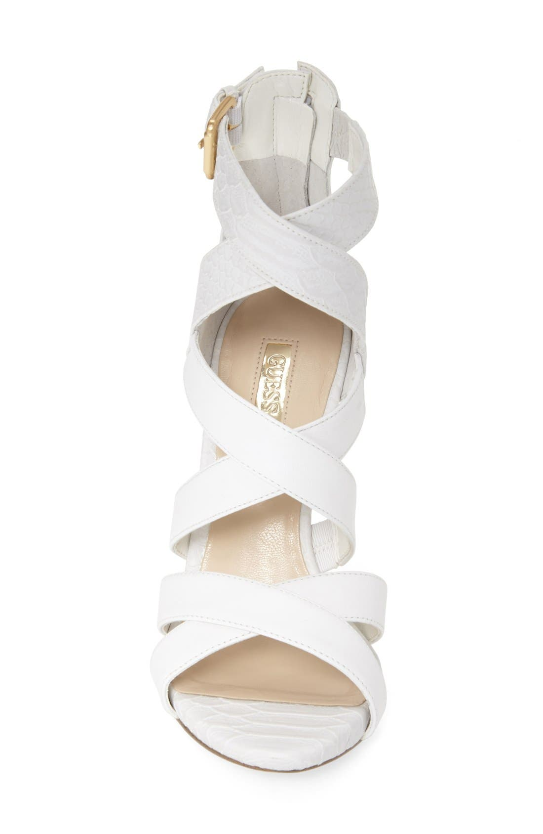 Alternate Image 3  - GUESS 'Abby' Strappy Sandal (Women)