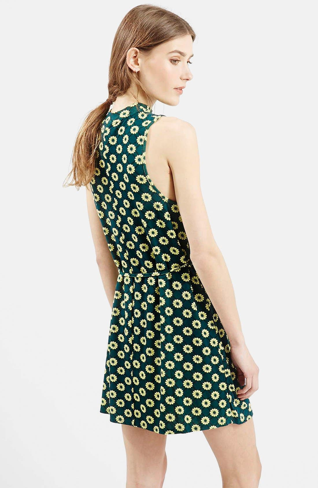 Alternate Image 2  - Topshop 'Scandi' Flippy Sleeveless Dress