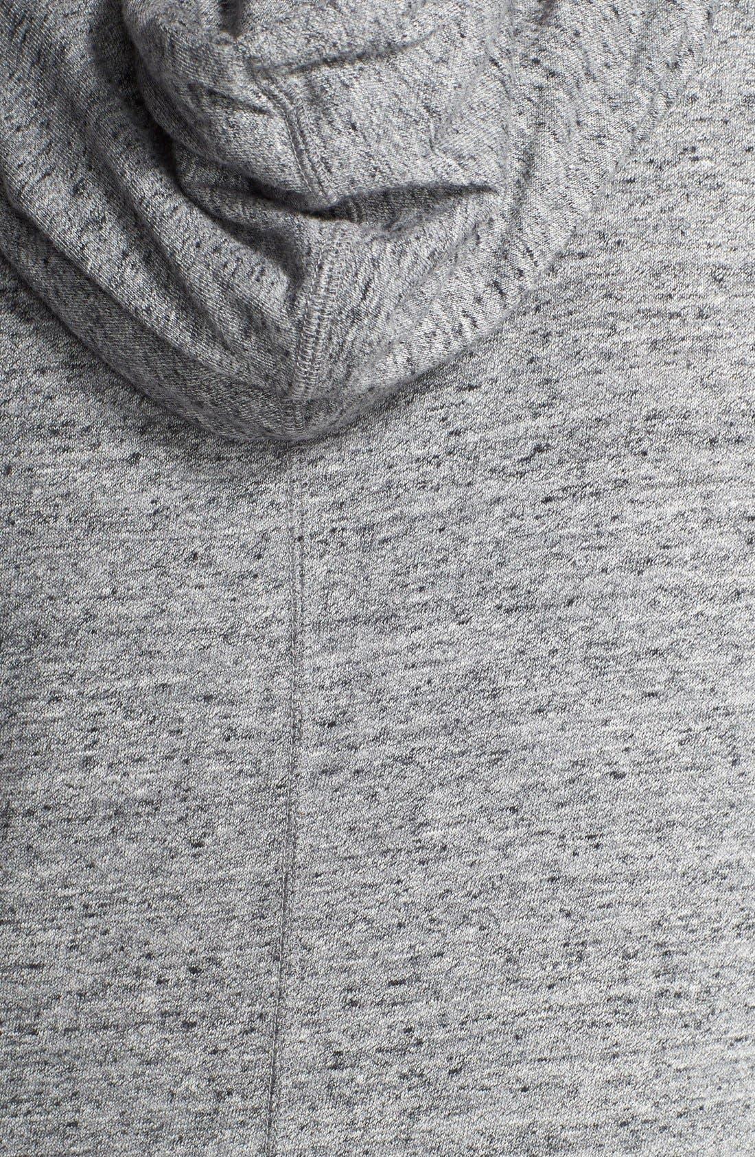 Alternate Image 3  - Nike 'Gym Vintage' Zip Front Hoodie