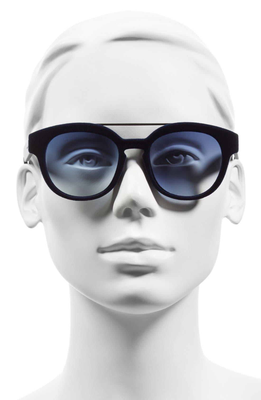 Alternate Image 2  - Italia Independent 50mm Retro Sunglasses