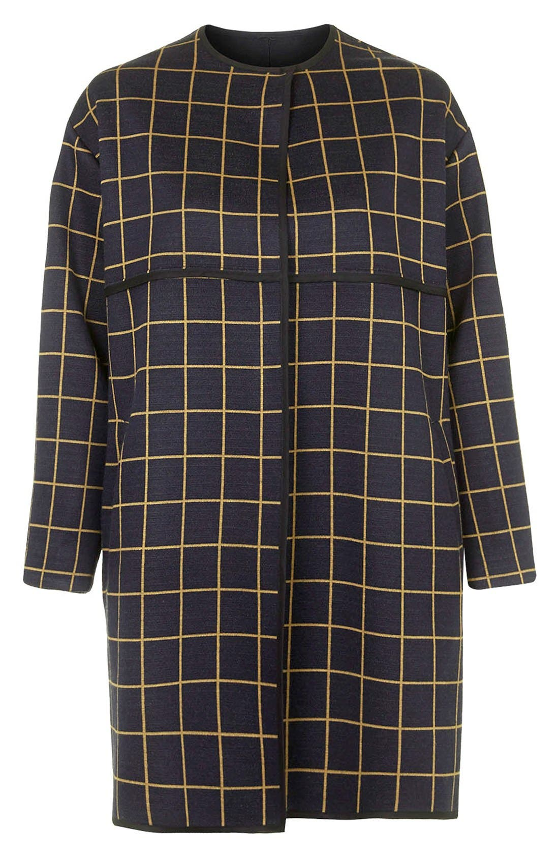 Alternate Image 4  - Topshop Check Topper (Nordstrom Exclusive)