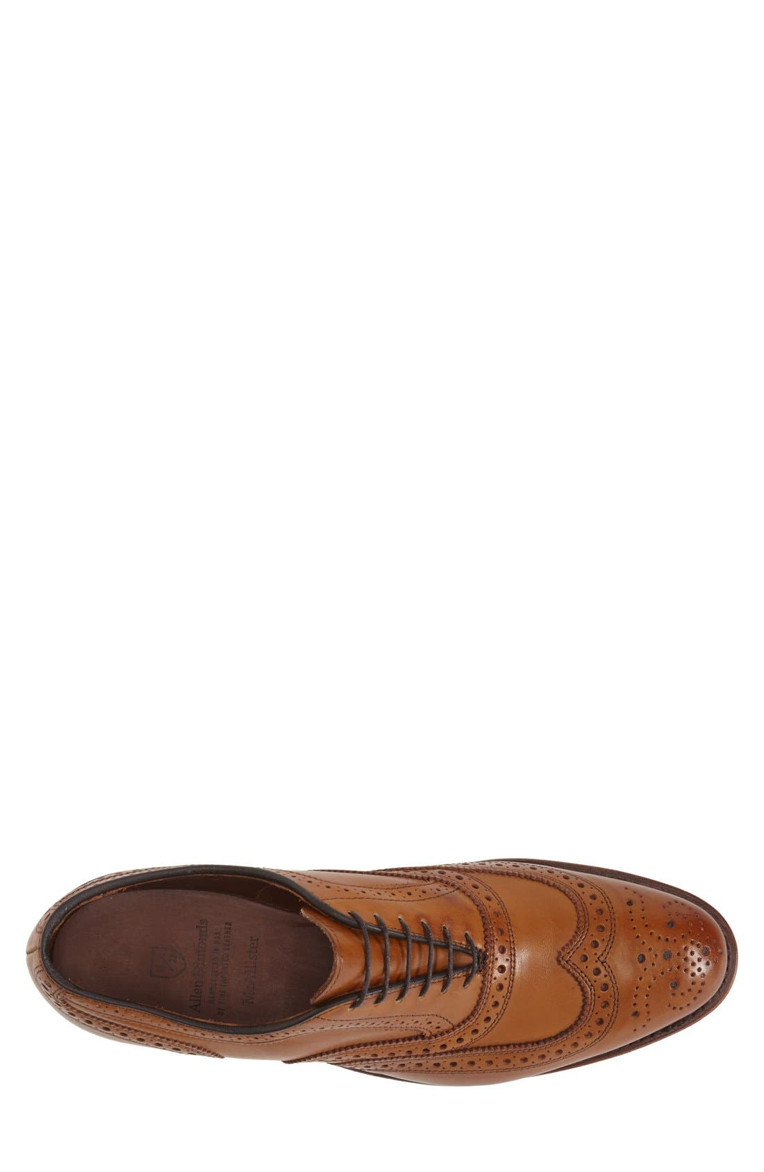 Alternate Image 3  - Allen Edmonds 'McAllister' Wingtip (Men)