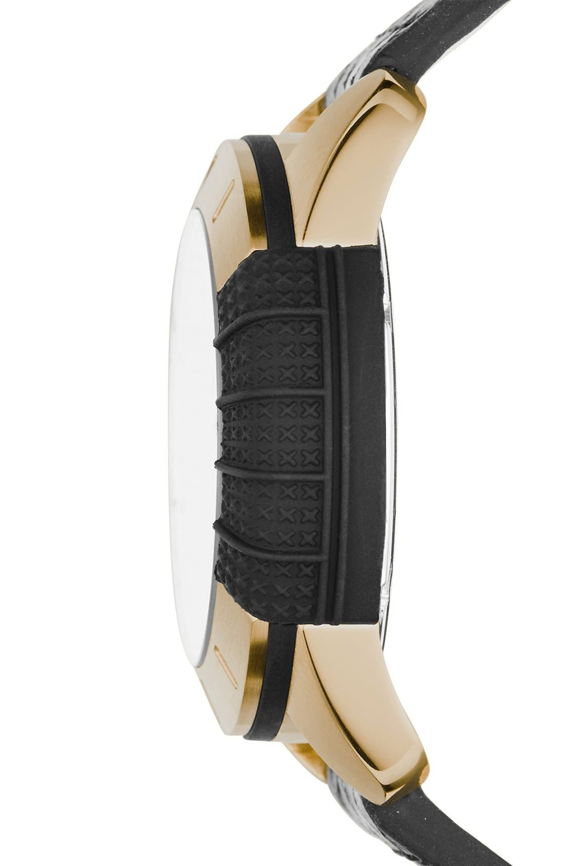 Alternate Image 2  - adidas Originals 'ADH-1969' Leather Strap Watch, 41mm