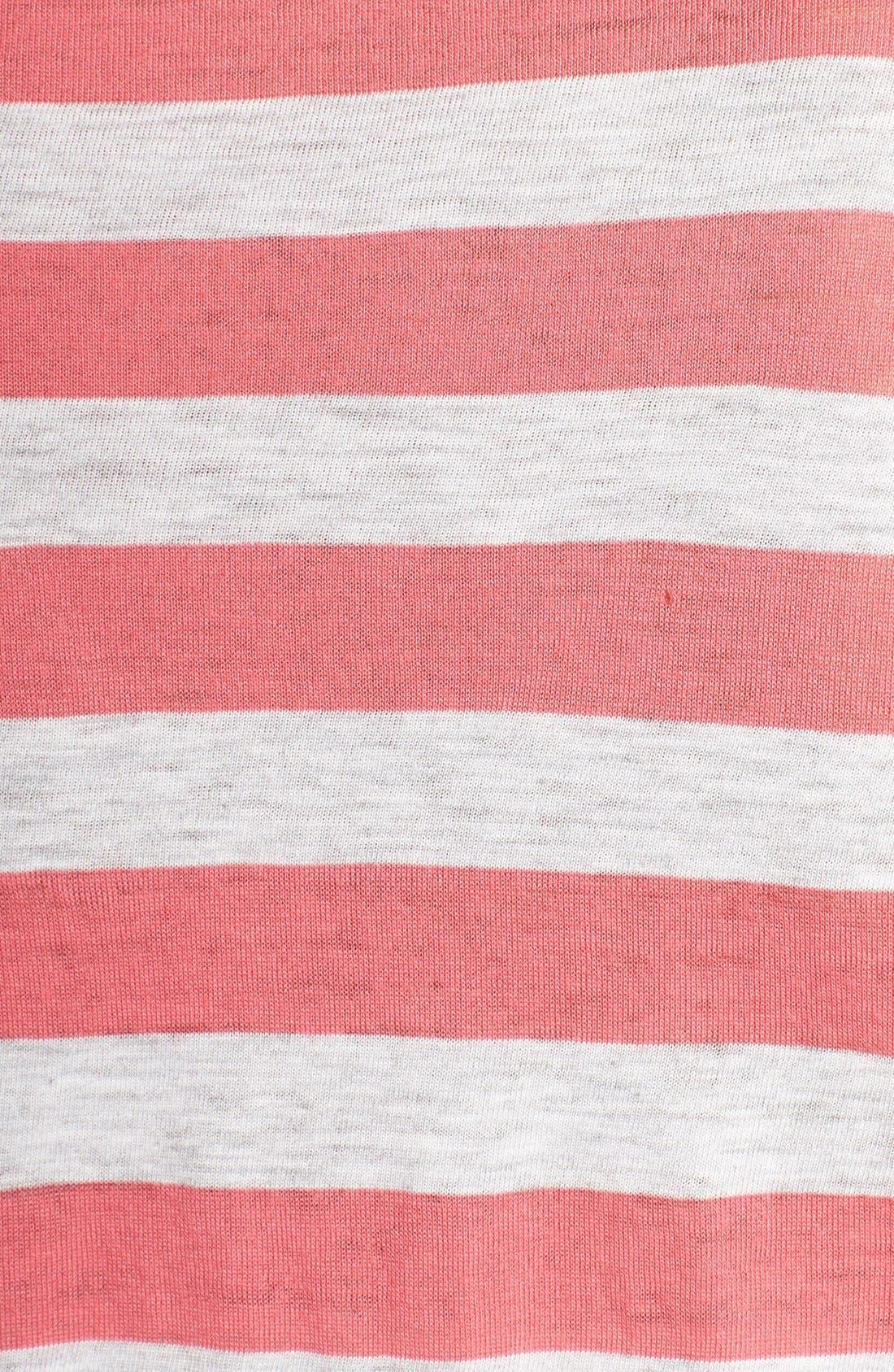 Alternate Image 3  - Nordstrom Print Lightweight Jersey Nightshirt