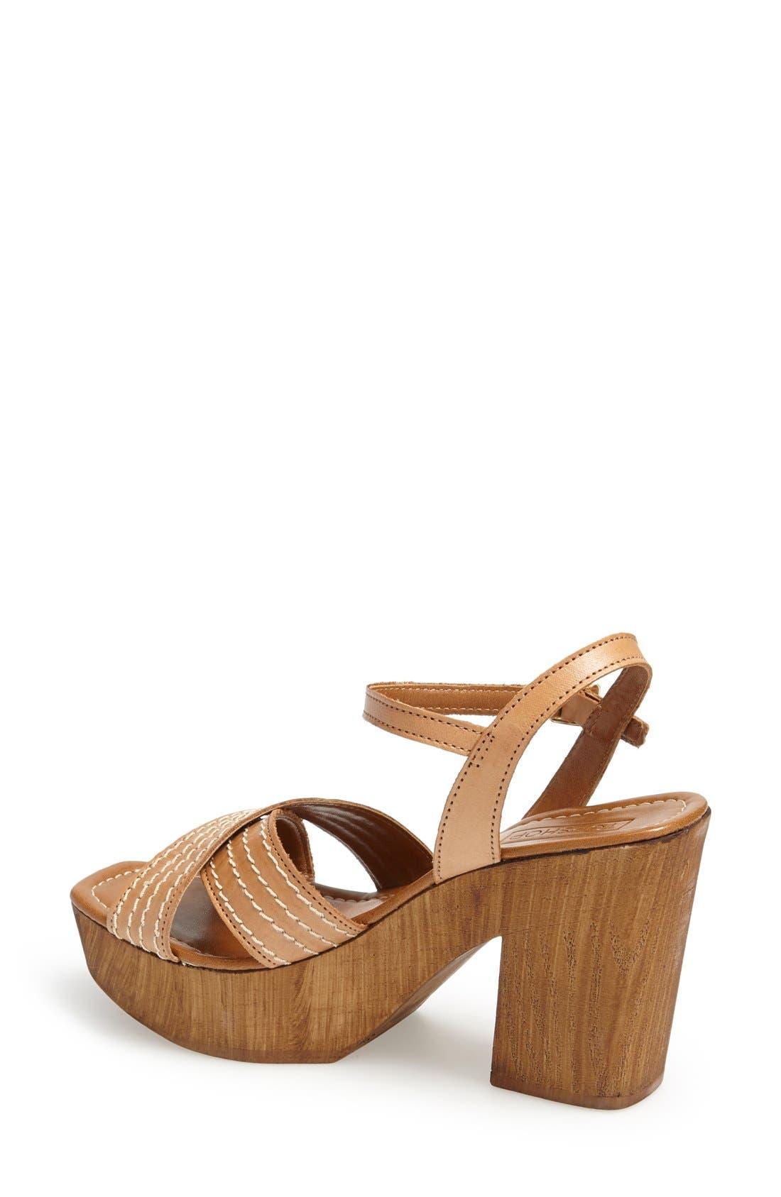 Alternate Image 2  - Topshop 'Lauren' Clog Sandal (Women)