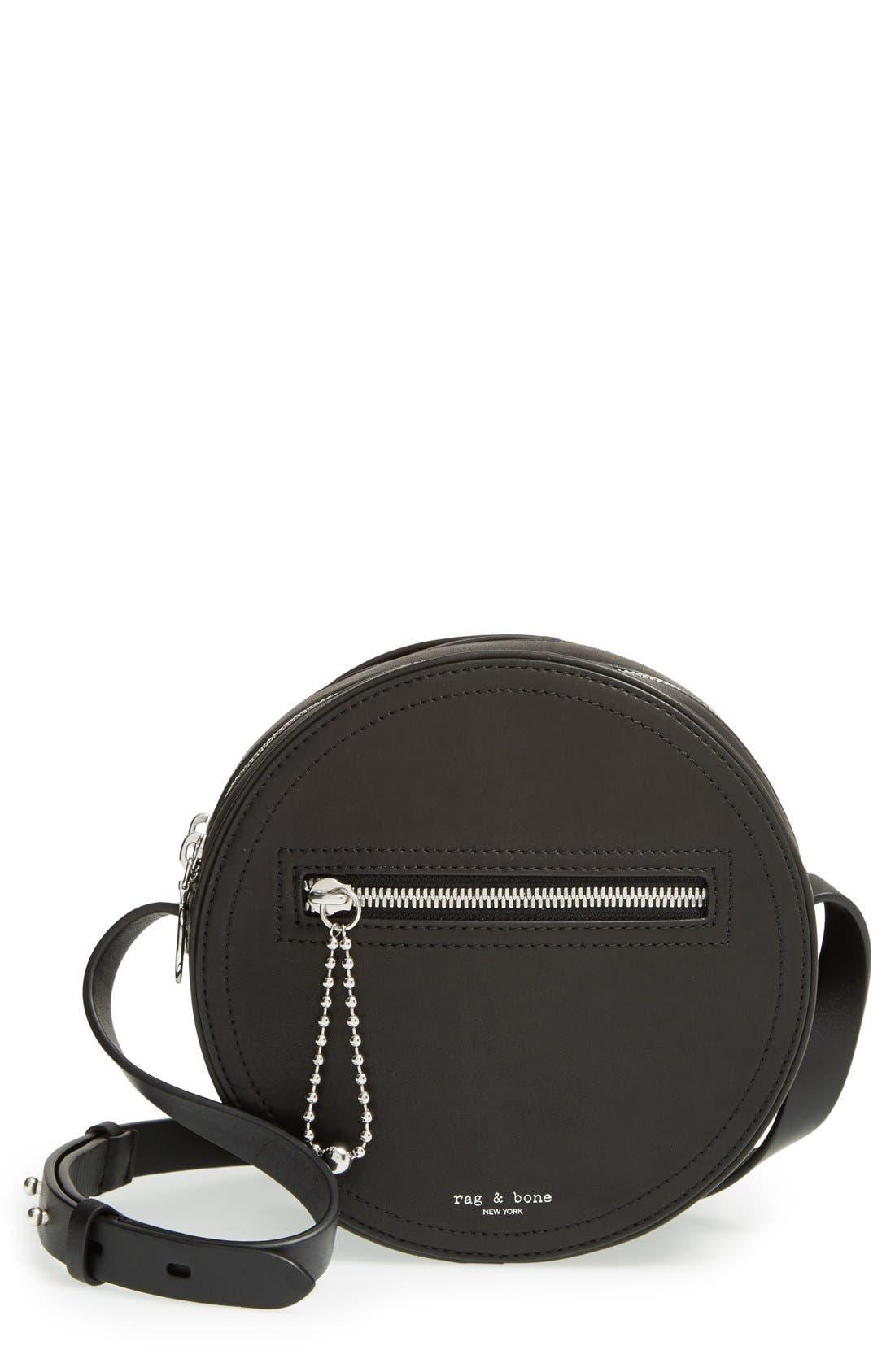 Alternate Image 1 Selected - rag & bone 'Circle' Leather Crossbody Bag