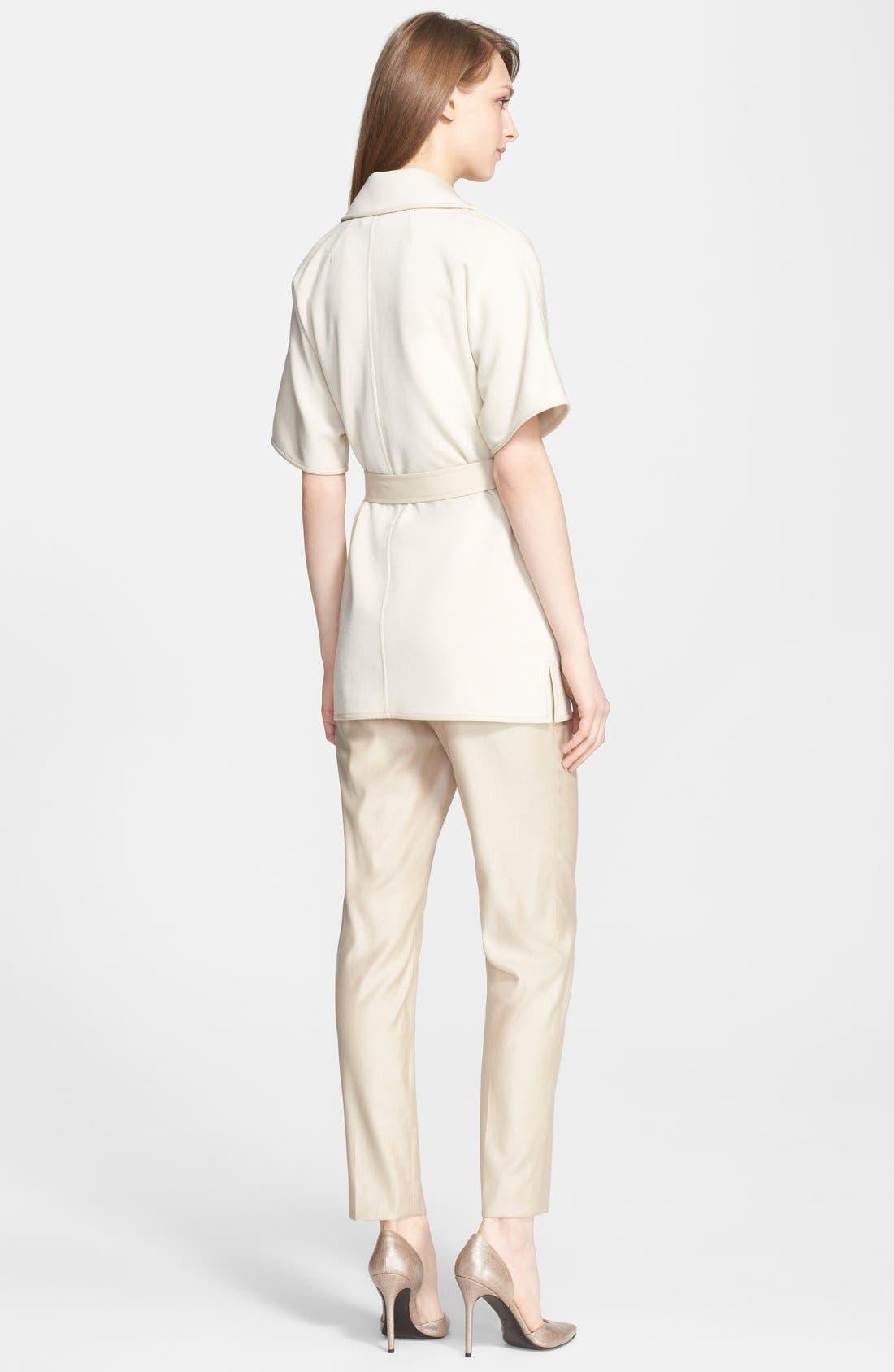 Alternate Image 4  - St. John Collection 'Emma' Straight Leg Suiting Pants