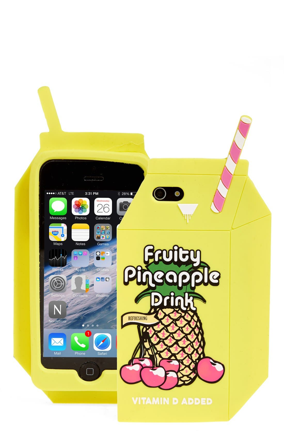 Alternate Image 1 Selected - Skinny Dip 'Pineapple Juice' iPhone 6 & 6s Case