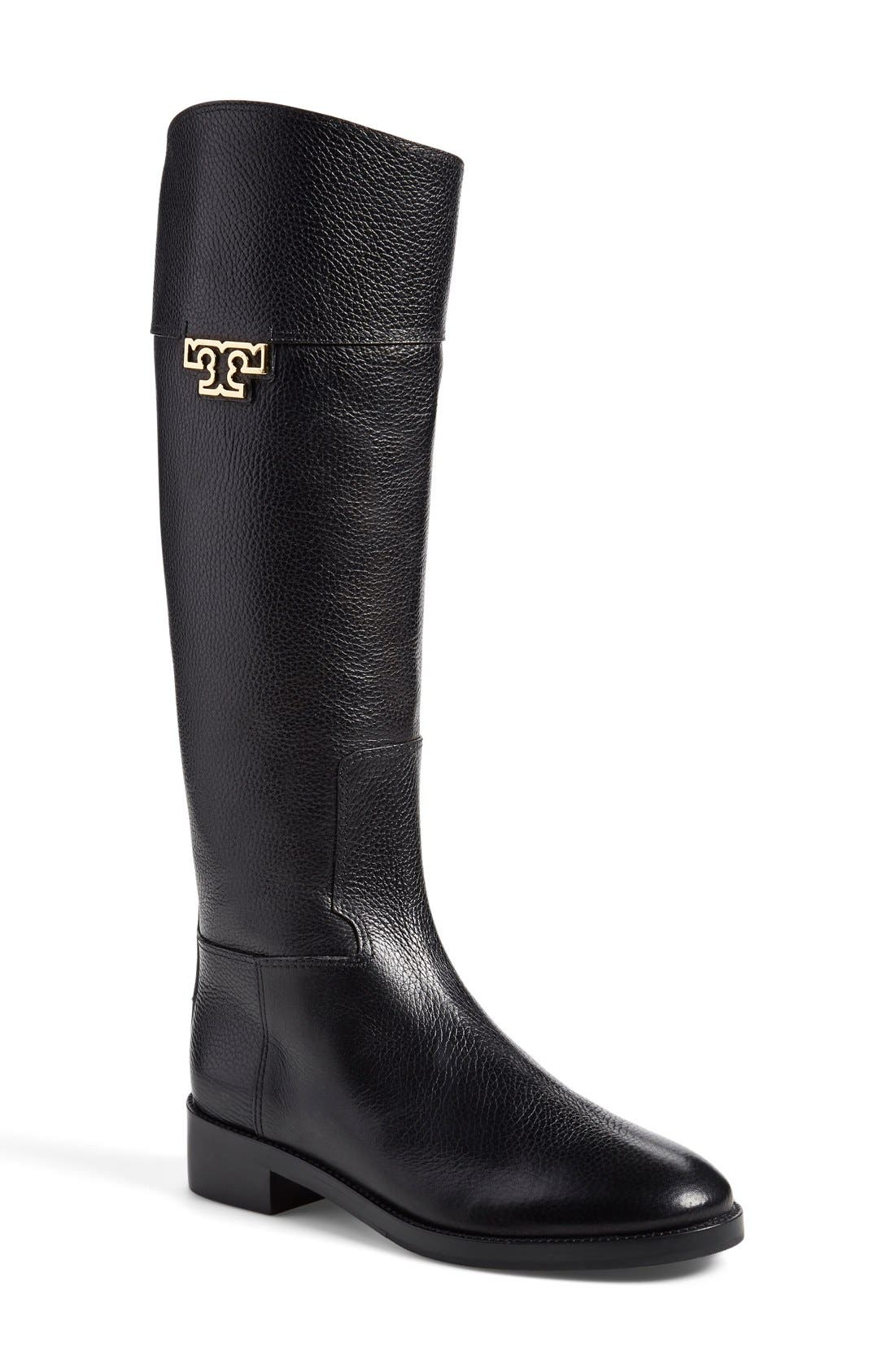 Main Image - Tory Burch 'Joanna' Riding Boot (Women) (Nordstrom Exclusive)