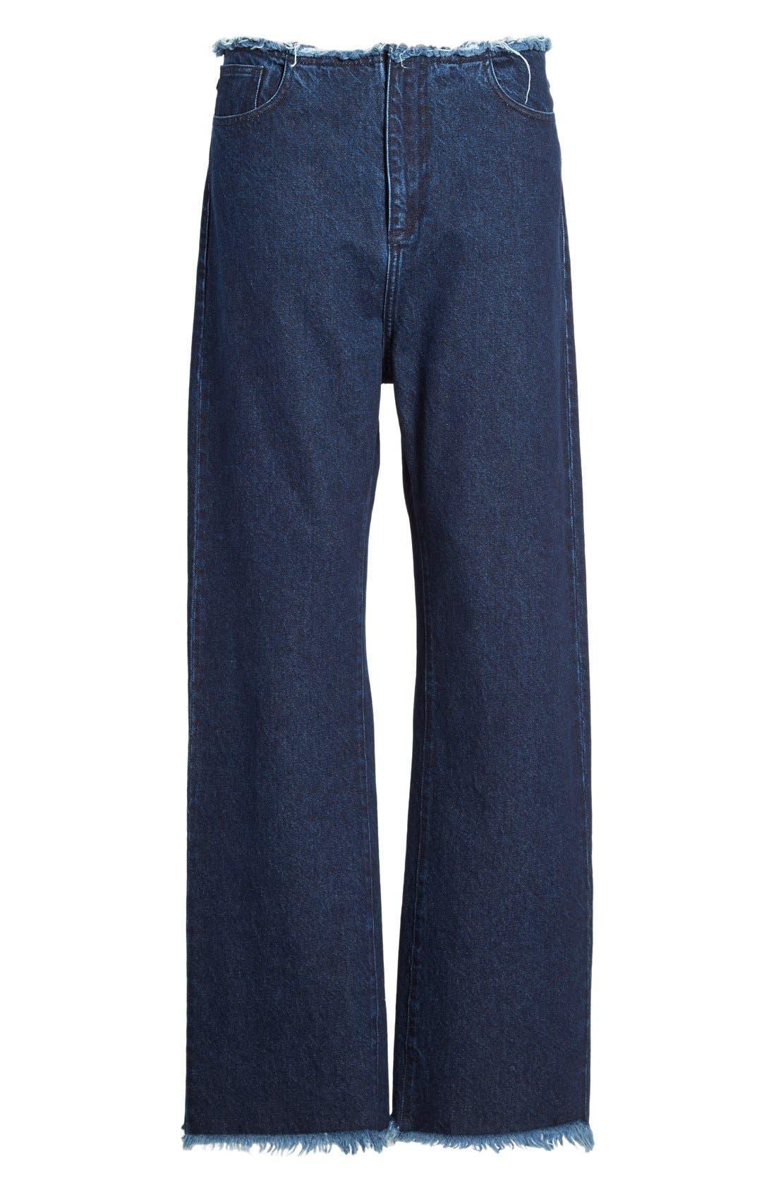 Alternate Image 4  - Marques'Almeida Relaxed Boyfriend Jeans