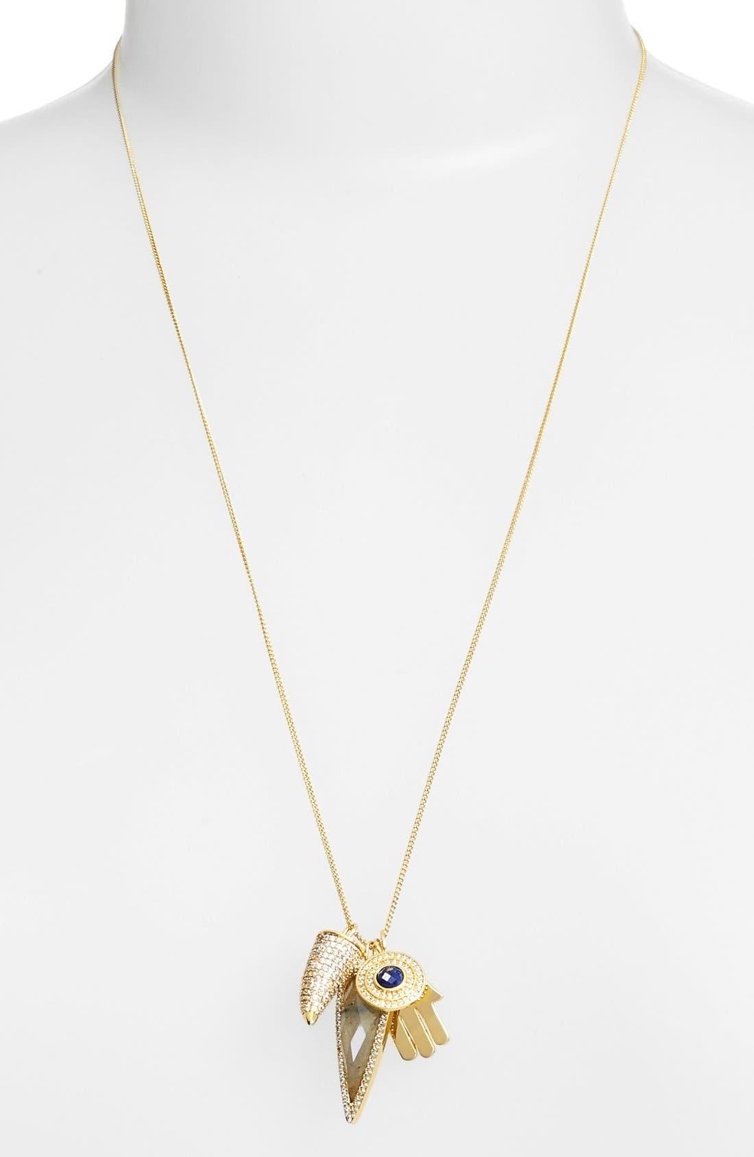 Alternate Image 2  - Melanie Auld'Protection' Charm Necklace