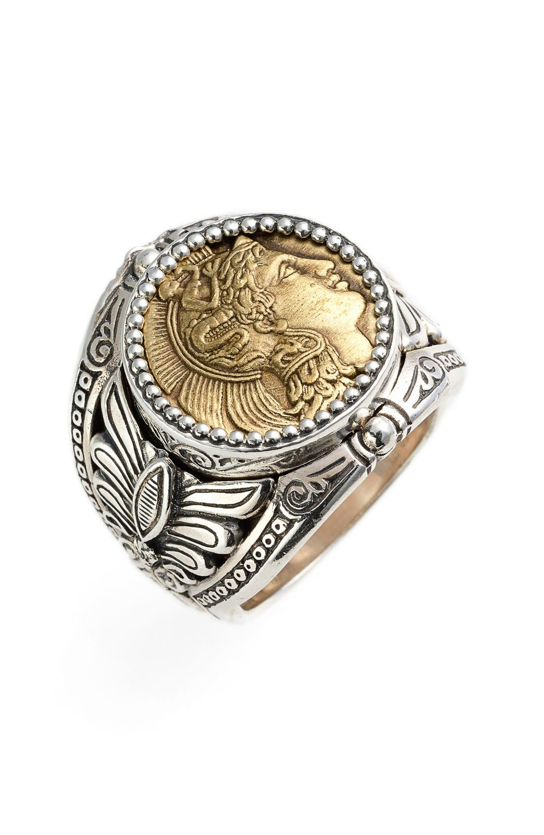 Alternate Image 1 Selected - Konstantino 'Athena' Coin Ring