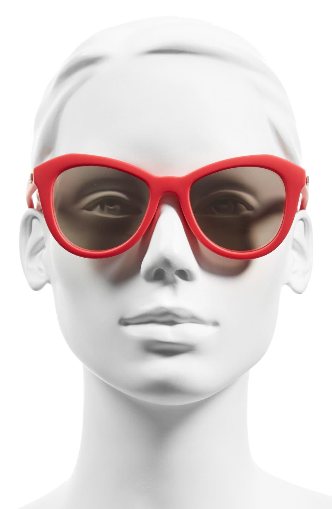 Alternate Image 2  - Le Specs 'Peach Pit' 52mm Cat Eye Sunglasses