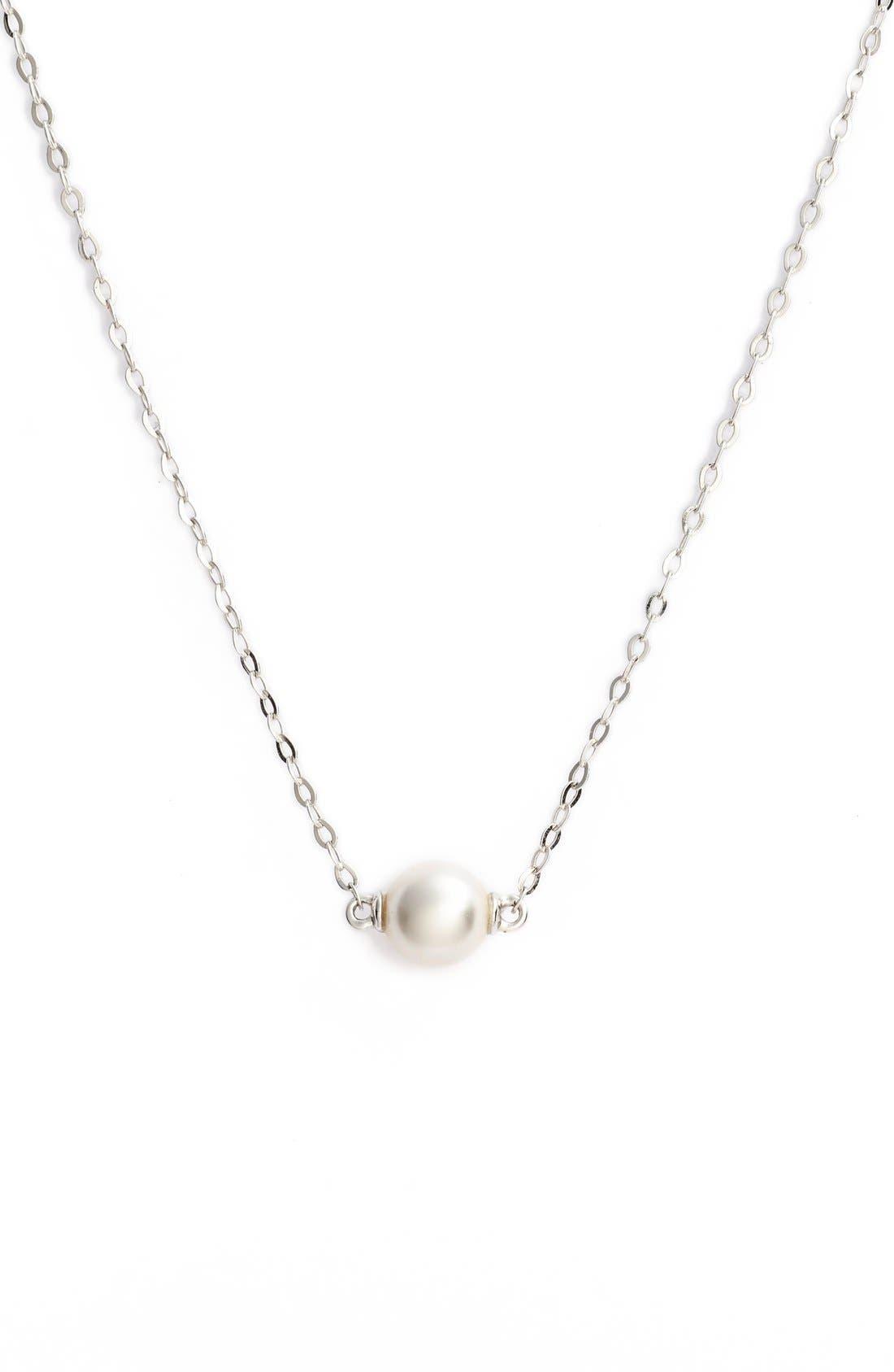 Alternate Image 1 Selected - Nadri Imitation Pearl Necklace