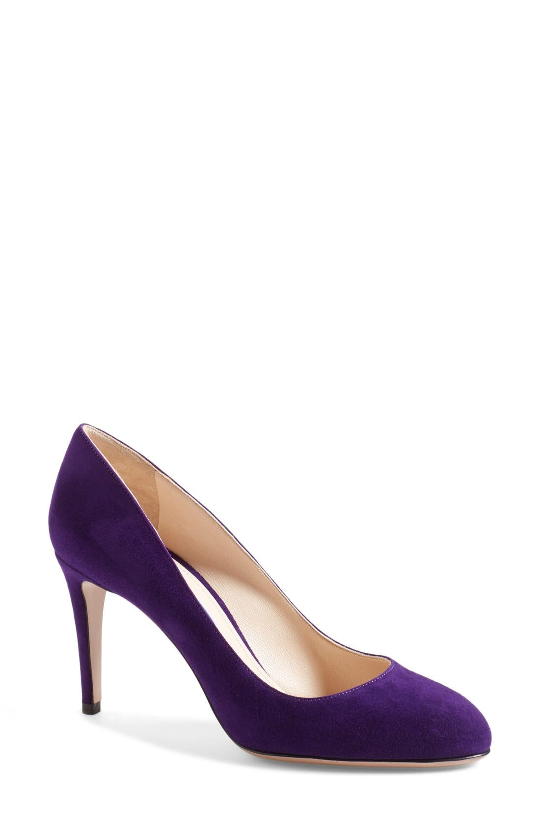 Alternate Image 1 Selected - Prada Almond Toe Pump (Women)