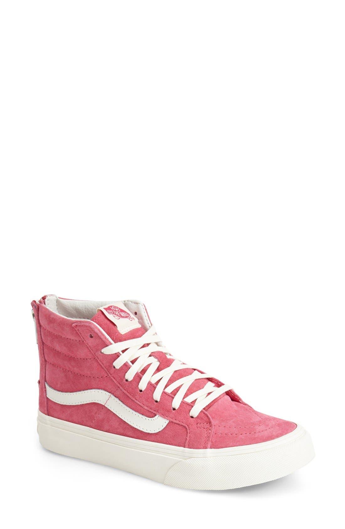 Main Image - Vans 'Sk8-Hi Slim Zip' Sneaker (Women)