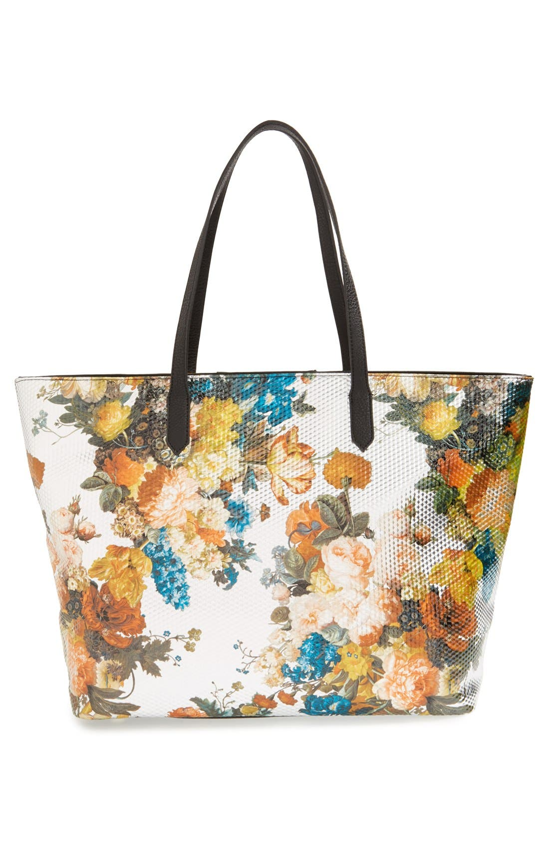 Alternate Image 3  - POVERTY FLATS by rian Floral Print Tote