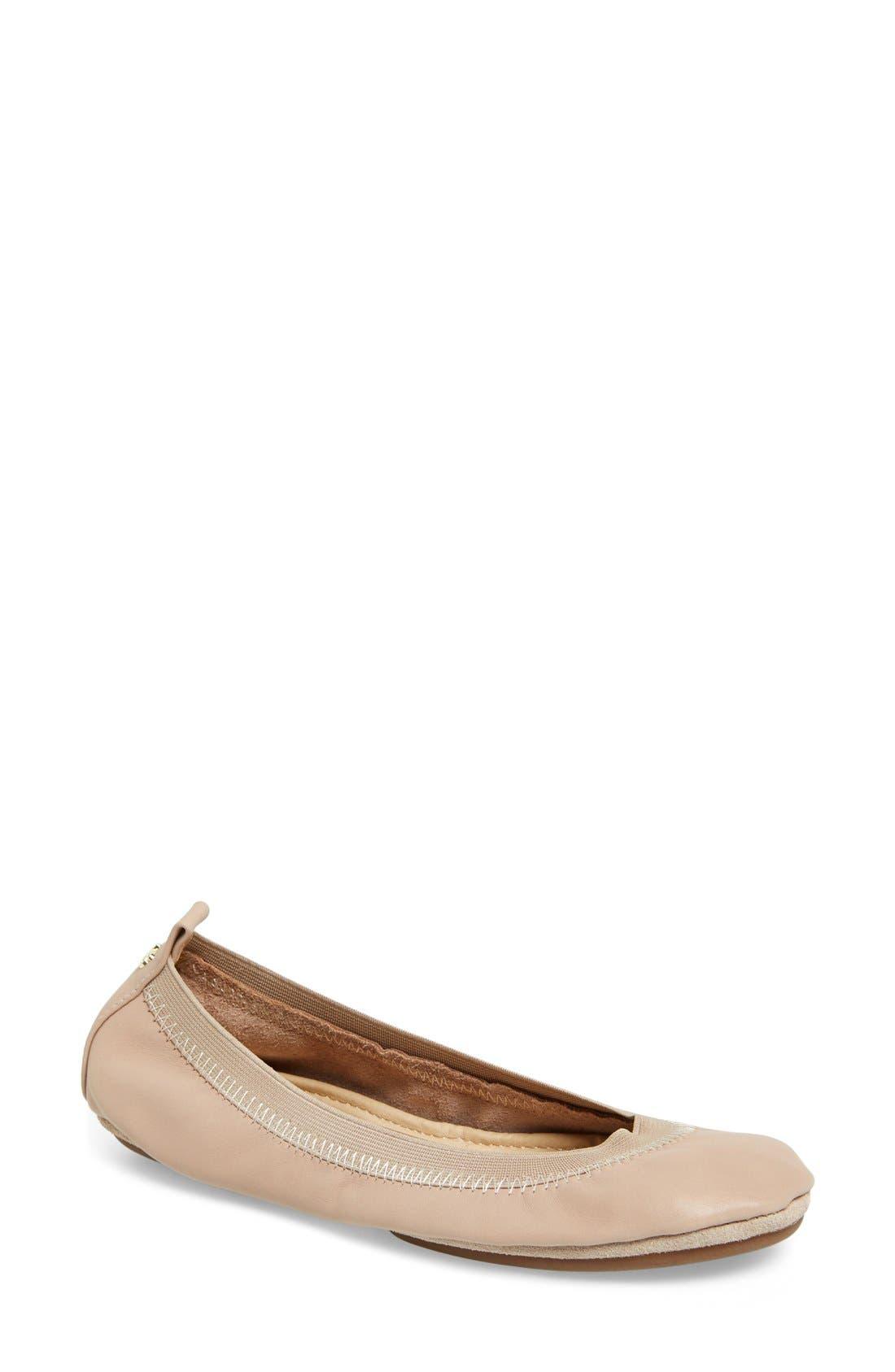 Alternate Image 1 Selected - Yosi Samra 'Samara' Foldable Ballet Flat (Women)