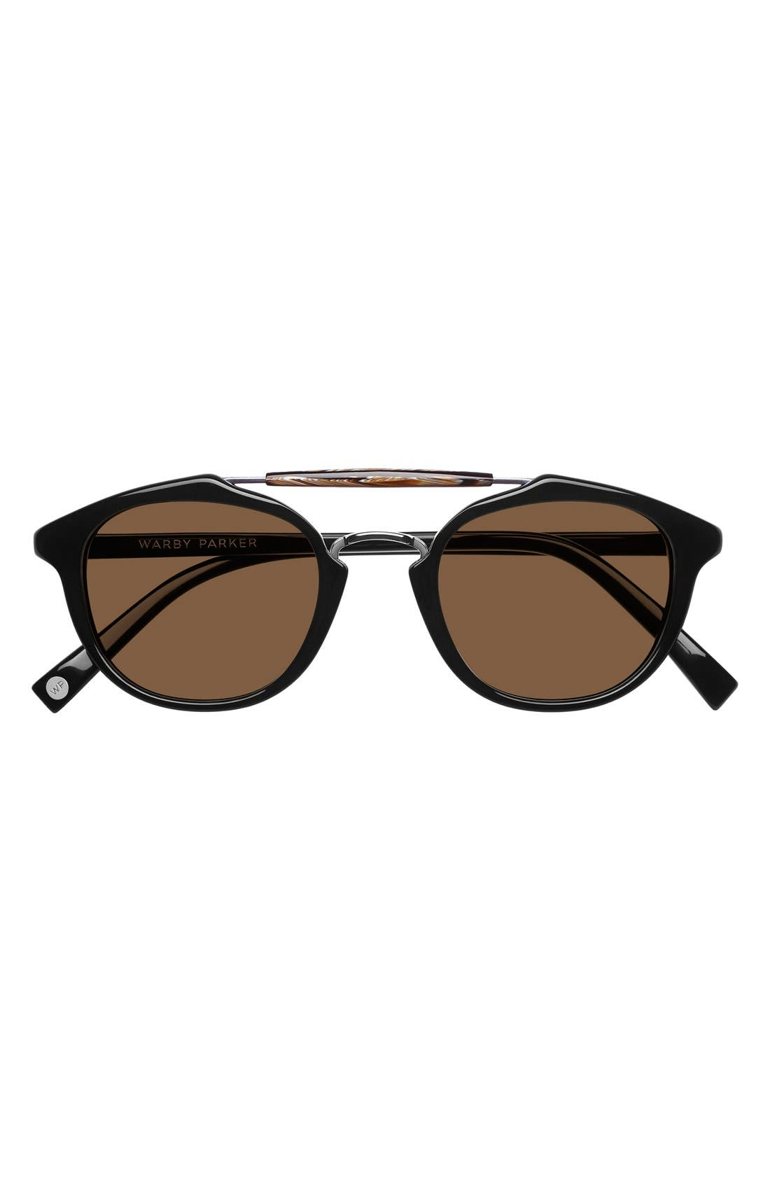 Alternate Image 4  - Warby Parker 'Teddy' 47mm Polarized Sunglasses