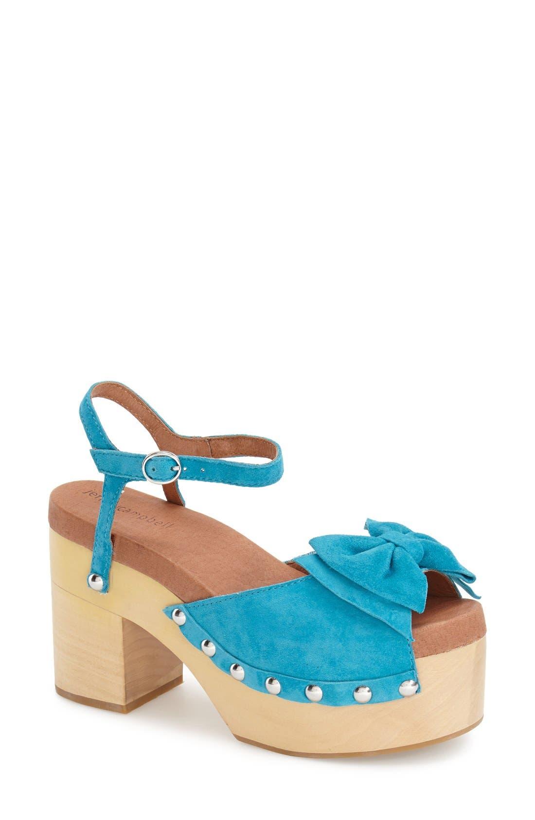 Alternate Image 1 Selected - Jeffrey Campbell 'Bridget' Platform Sandal (Women)