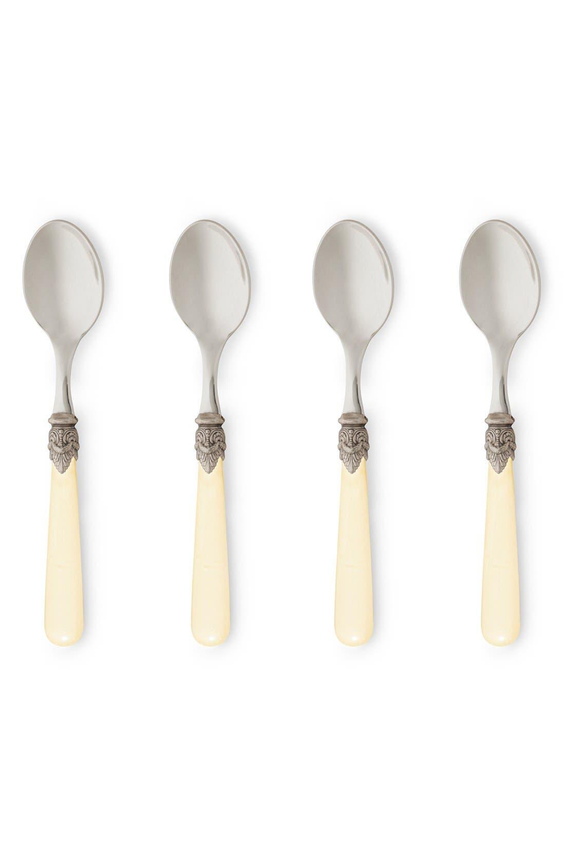 Rosanna 'Napoleon' Espresso Spoons (Set of 4)