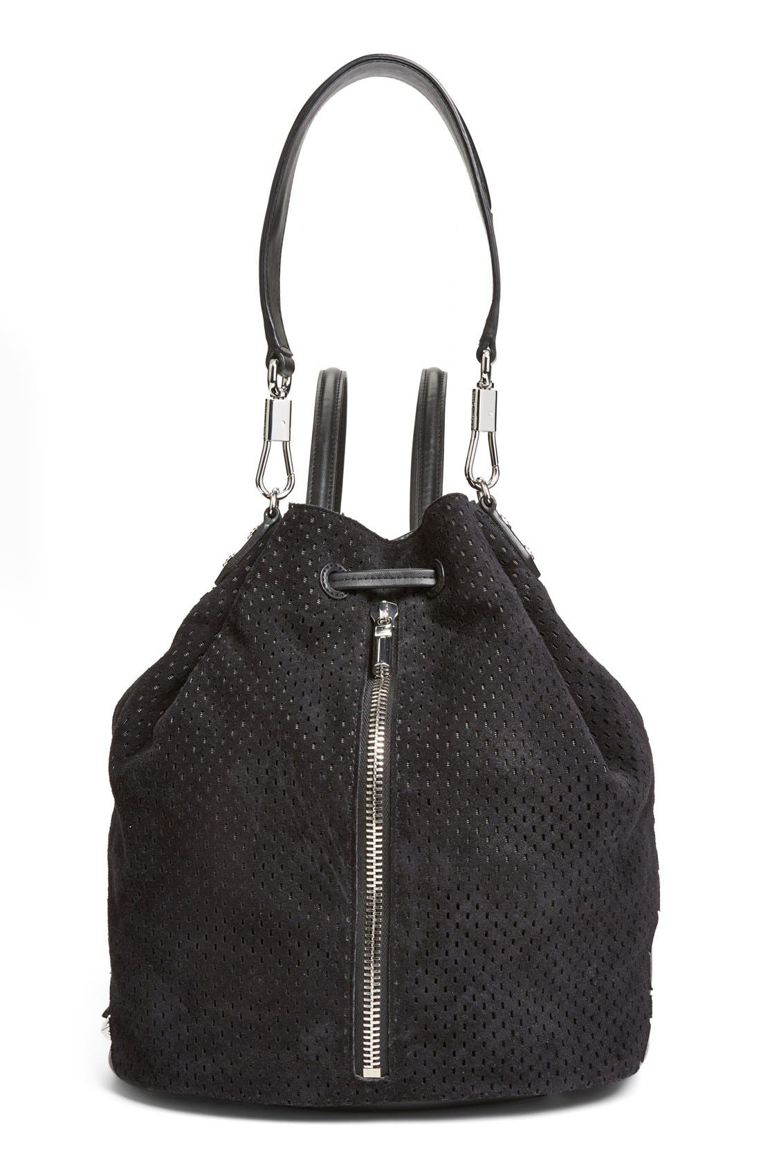 Alternate Image 1 Selected - Elizabeth and James 'Cynnie' Perforated Sling Backpack