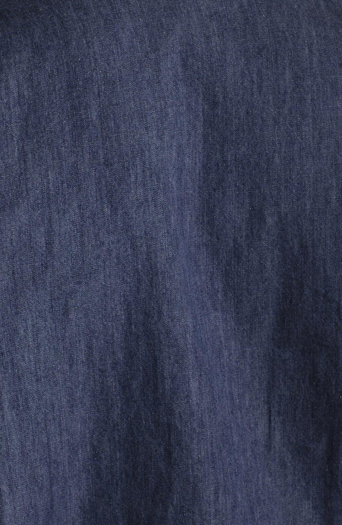 Alternate Image 4  - Tommy Bahama Cotton Chambray Shirtdress