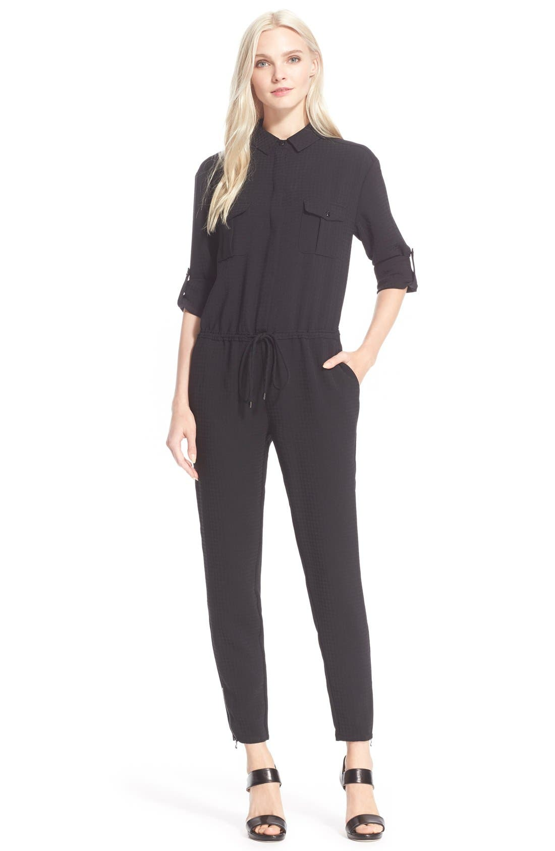 Alternate Image 1 Selected - Ted Baker London Easy Fit Jumpsuit